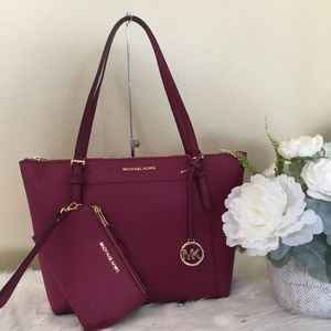 Michael Kors Large Ciara shoulder tote & wallet